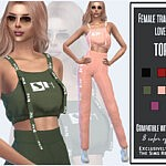 Tracksuit Top sims 4 cc