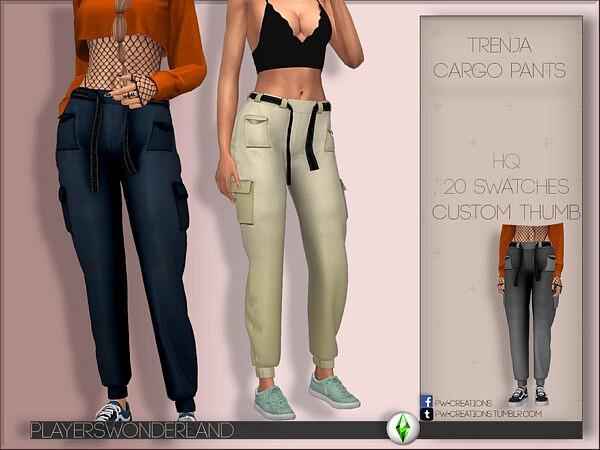 Trenja Cargo Pants sims 4 cc
