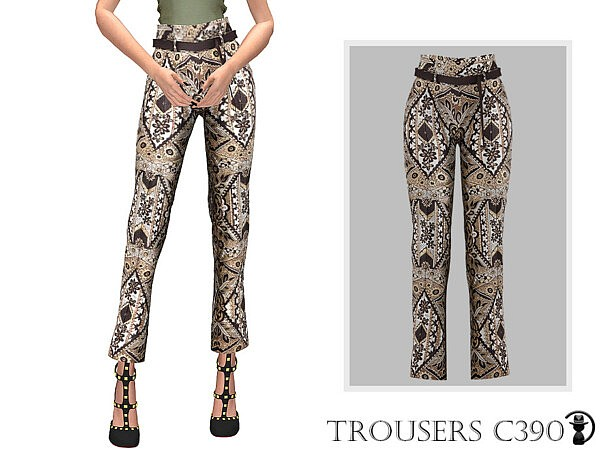 Trousers C390 sims 4 cc