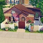 Tulipe House sims 4 cc
