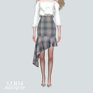 U 5 Midi Skirt V2 sims 4 cc