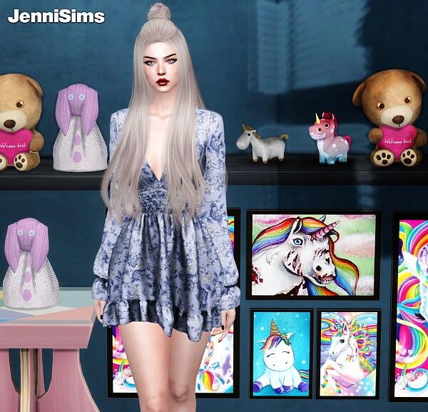 Unicorn Dreams Decorative sims 4 cc