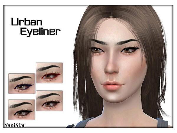 Urban Eyeliner sims 4 cc