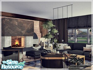 VITOLD Living Room sims 4 cc
