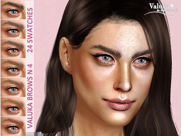 Valuka brows N4 sims 4 cc