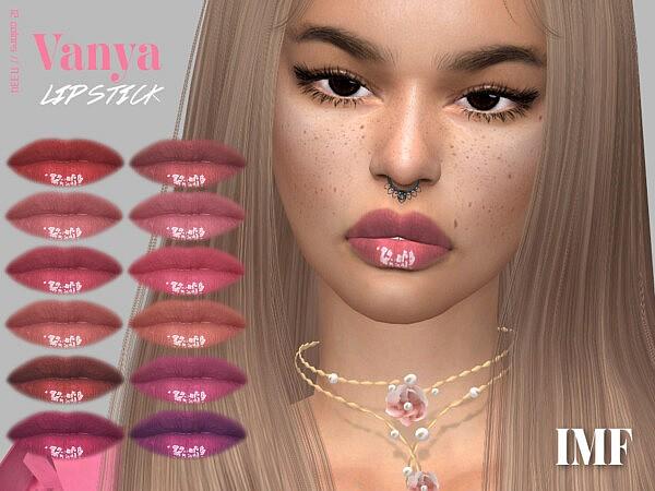 Vanya Lipstick N.334 sims 4 cc