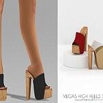 Vegas High Heels sims 4 cc