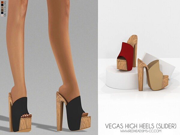 Vegas High Heels from Red Head Sims