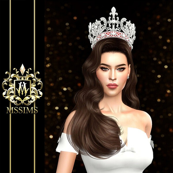 Venezuela Universe Crown sims 4 cc