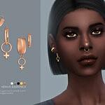 Venus earrings sims 4 cc