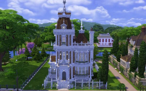 Villa Ornate sims 4 cc