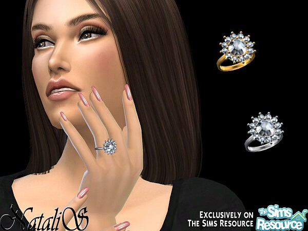 Vintage inspired diamond ring by NataliS from TSR
