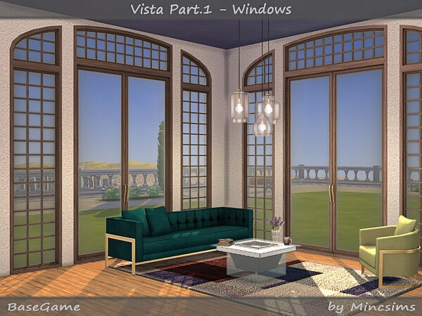 Vista Set Part 1 Windows sims 4 cc