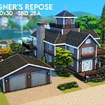 Wagners Repose sims 4 cc
