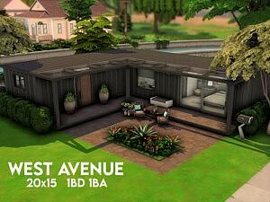 West Avenue House sims 4 cc