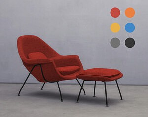 Womb Chair sims 4 cc