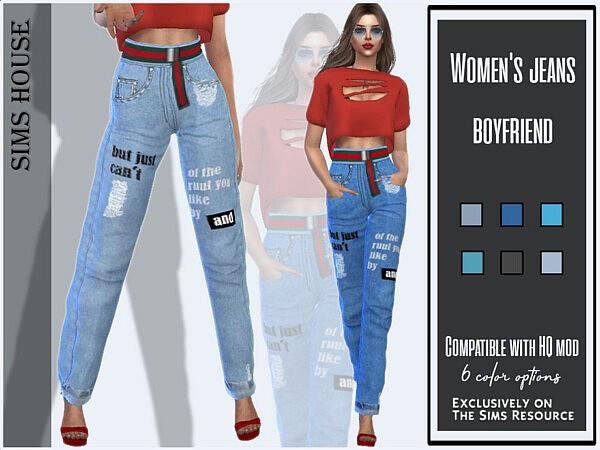 Womens jeans boyfriend