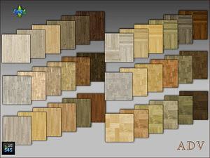 Wooden floors sims 4 cc