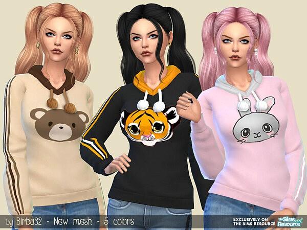 Zoo hoodie by Birba32 from TSR