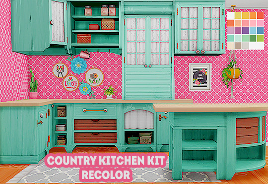 country kitchen kit