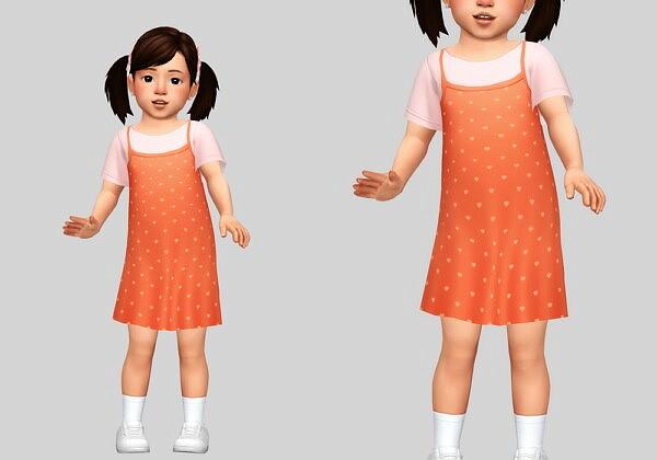 layered dress sims 4 cc