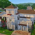 sanctuary of the sun house sims 4 cc
