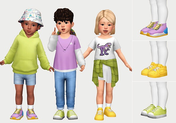 toddler shoe pack sims 4 cc