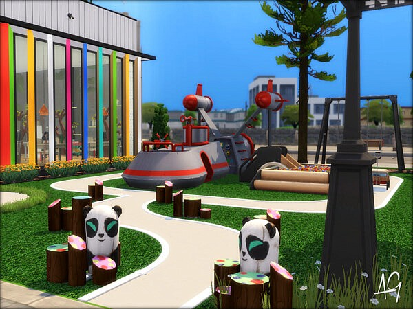 Kids Learn and Play Center by ALGbuilds from TSR