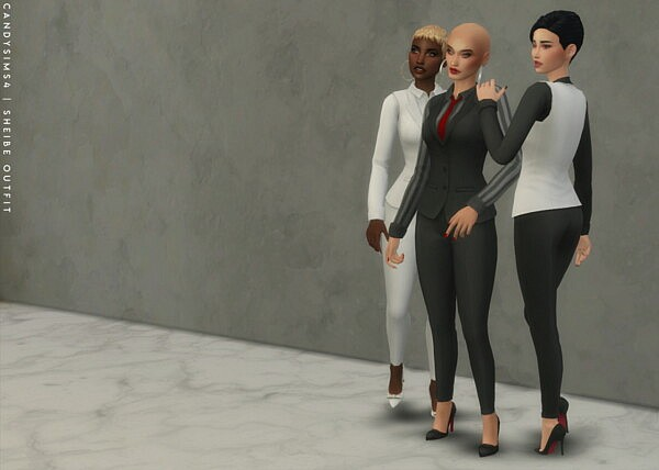 Sheibe Outfit from Candy Sims 4