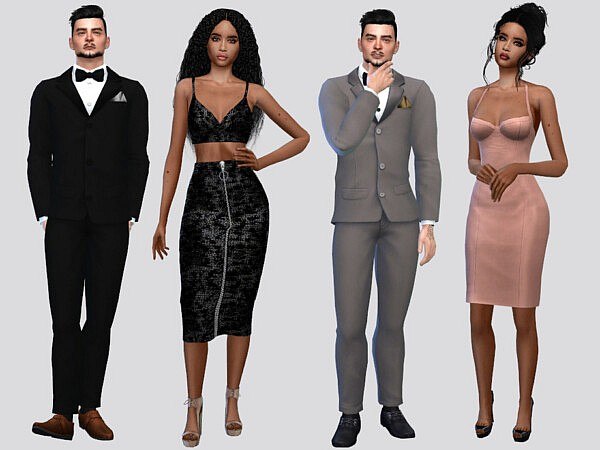 Formal Tuxedo Suit by McLayneSims from TSR
