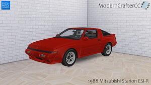 1988 Mitsubishi Starion ESI R sims 4 cc