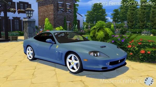 2002 Ferrari 550 Maranello sims 4 cc