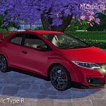 2015 Honda Civic Type R sims 4 cc