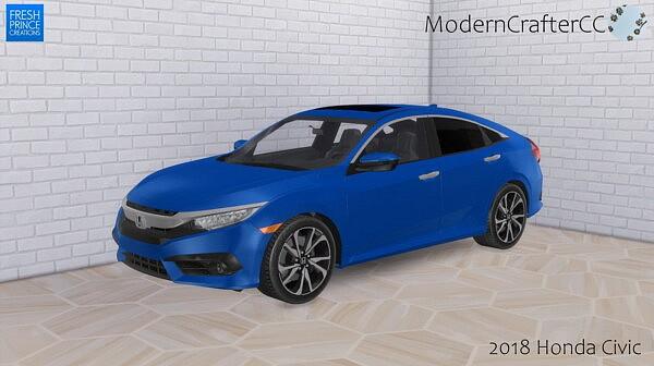 2018 Honda Civic sims 4 cc