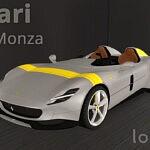2019 Ferrari Monza SP2 sims 4 cc
