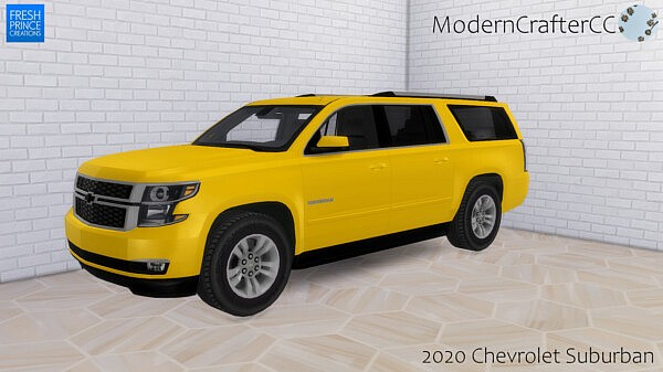 2020 Chevrolet Suburbansims 4 cc