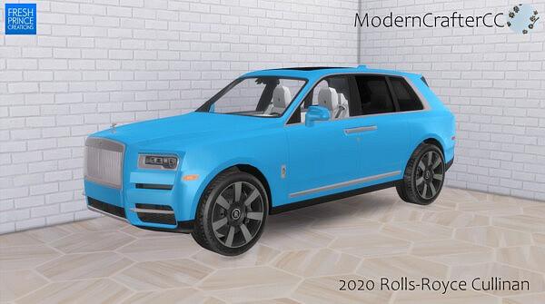 2020 Rolls Royce Cullinan sims 4 cc