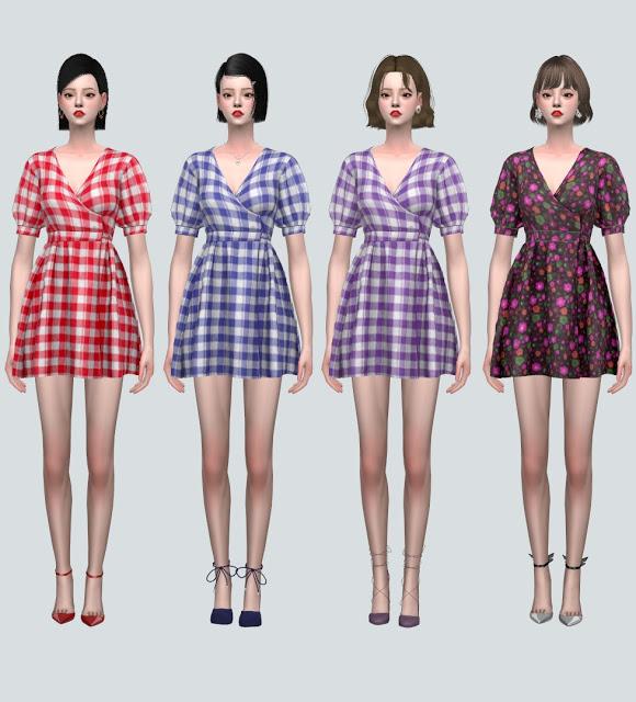 LW 1 Mini Dress V2 from SIMS4 Marigold