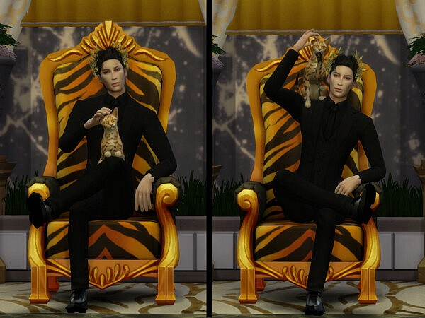 King Pose Pack by YaniSim from TSR