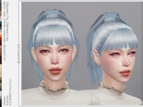 Hair Almond from MMSIMS