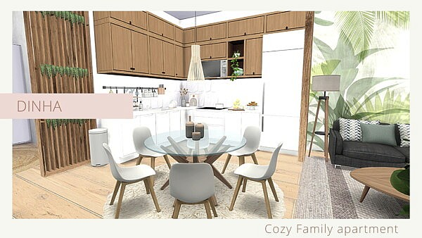 Cozy Family Apartment from Dinha Gamer