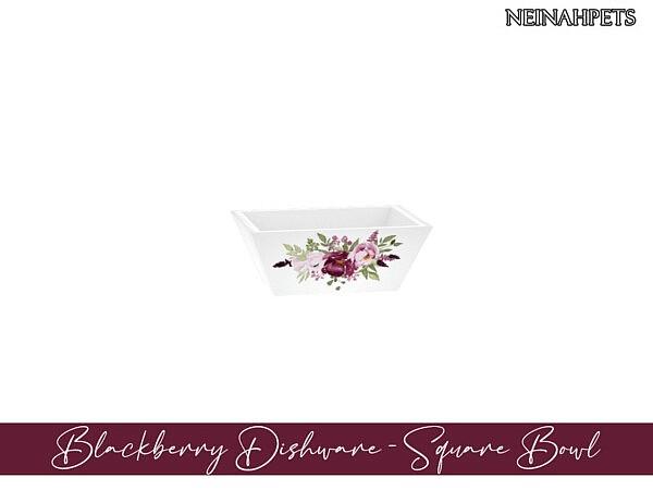 Blackberry Dishware  by neinahpets from TSR