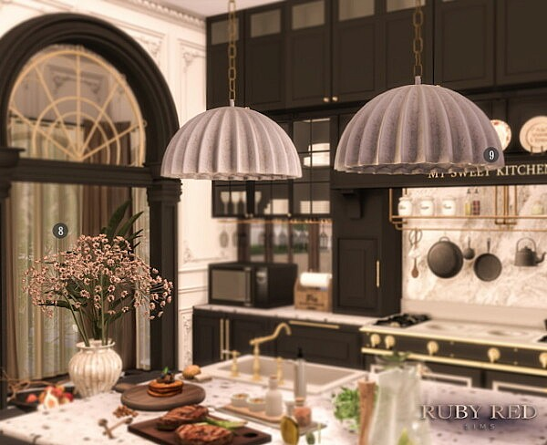 Traditional Townhouse CC Set from Ruby`s Home Design
