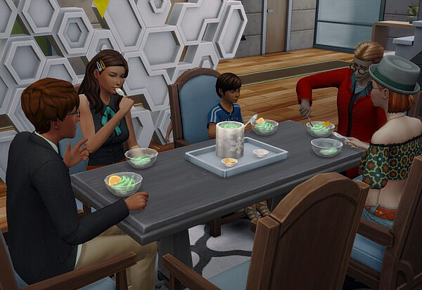 Ask to Eat and more by amellce from Mod The Sims