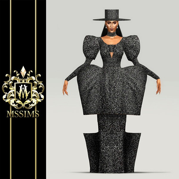Fall 2020 Gown, Hat and Streets poses from MSSIMS
