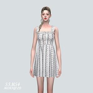 9P Mini Dress sims 4 cc