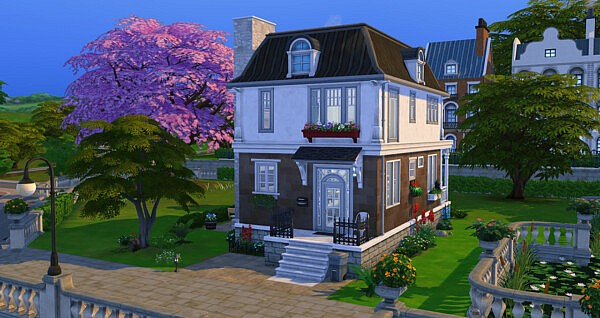 A Gone in Time house sims 4 cc