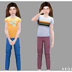 Akogare Bottom No.08 sims 4 cc