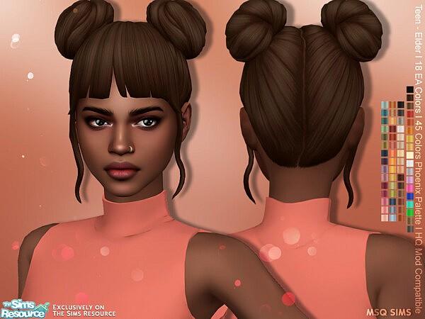 Alena Hair sims 4 cc