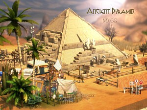 Ancient Pyramid sims 4 cc